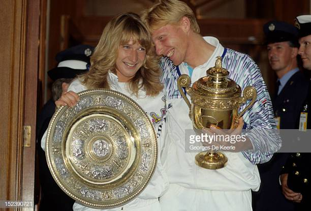 A tribute to Boris Becker and Steffi Graf