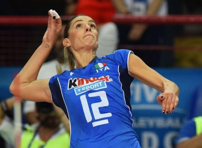 Volley femminile: Francesca Piccinini dice addio alla nazionale