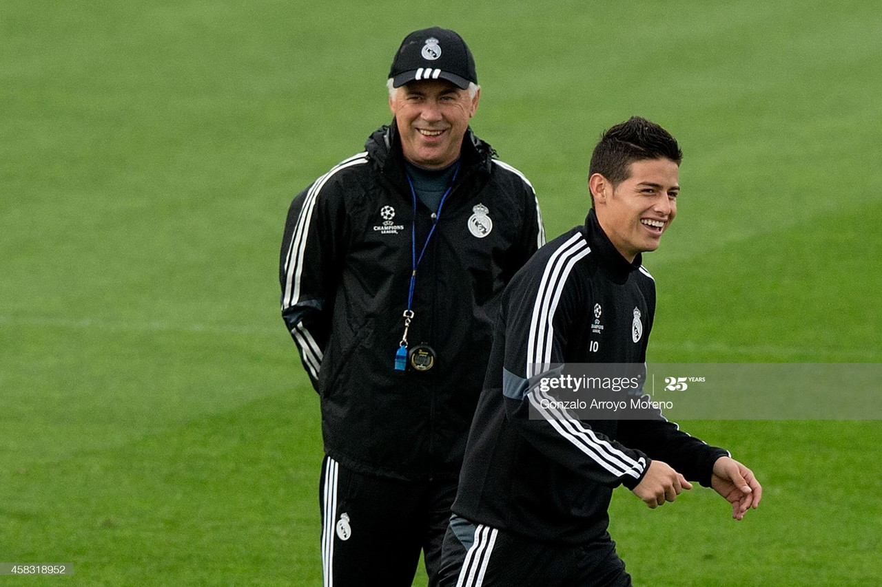 Can Ancelotti get James Rodriguez firing one more time?