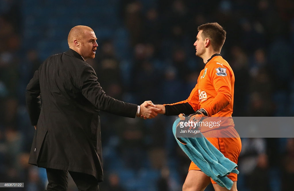 Dyche and Heaton nominated for Premier League Awards