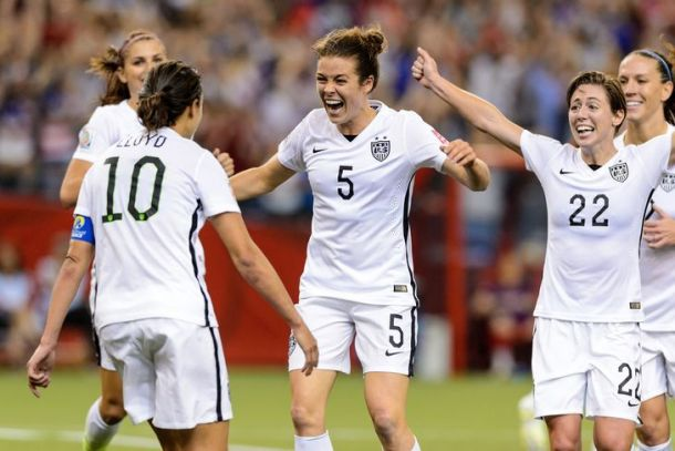 USWNT Overcome Powerhouse Germany To Advance To Women's World Cup Finals
