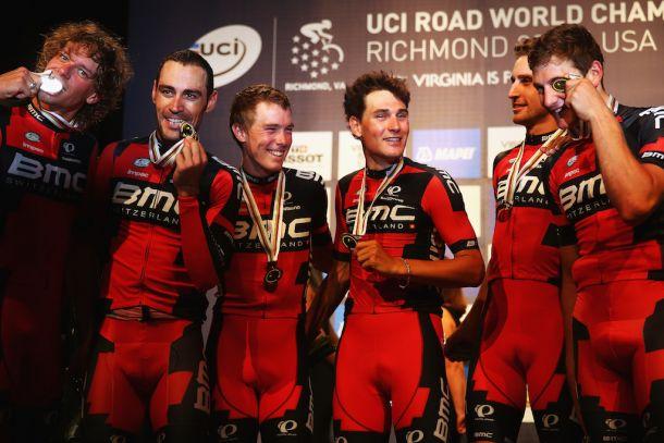 Richmond 2015: BMC oro nella cronosquadre, oggi tocca a Ganna
