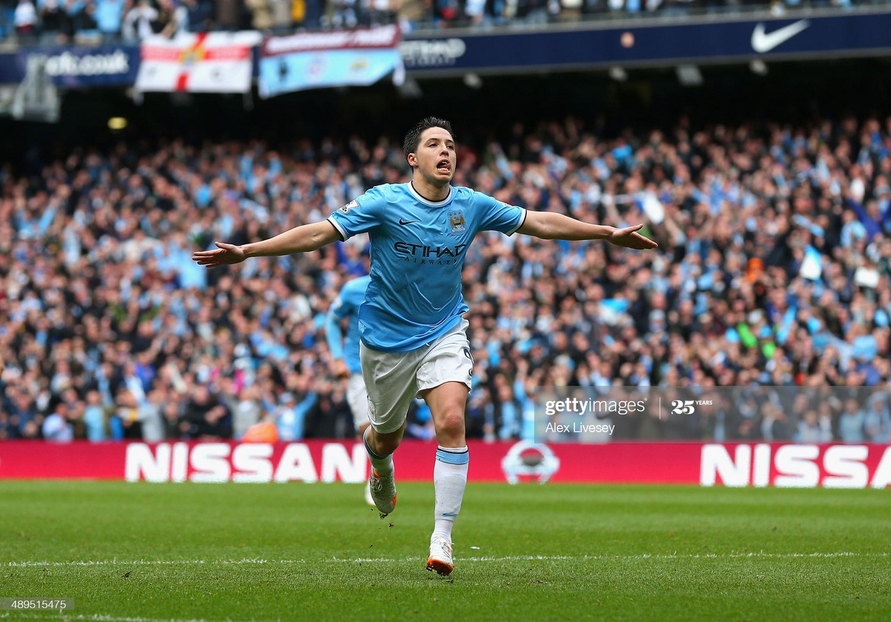 Manchester City signed Samir Nasri nine years ago today. Here is a look at his best moments.