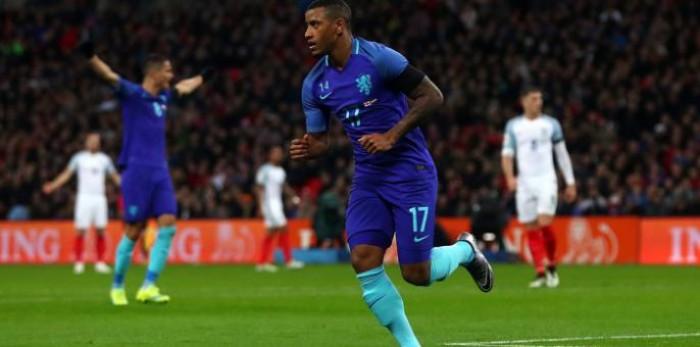 """L'Olanda fa il colpaccio a """"Wembley"""": 1-2 all'Inghilterra"""