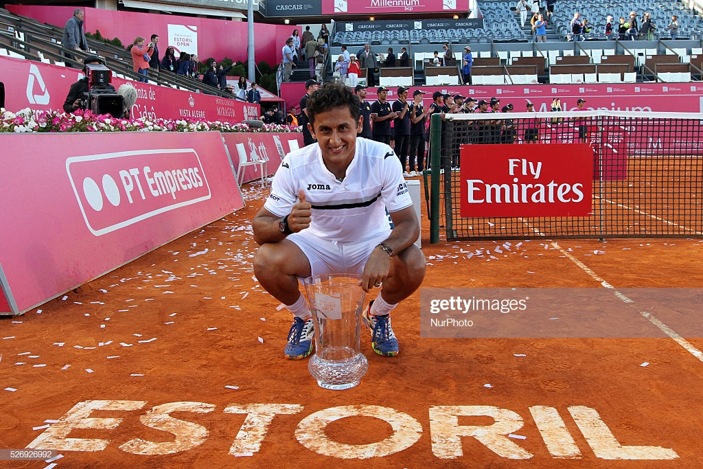 Nicolas Almagro retires in Murcia today