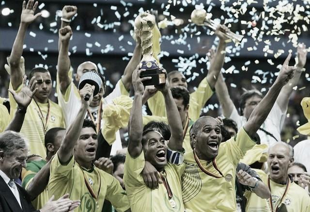 Globo vai reexibir final Brasil x Argentina pela Copa das Confederações de 2005