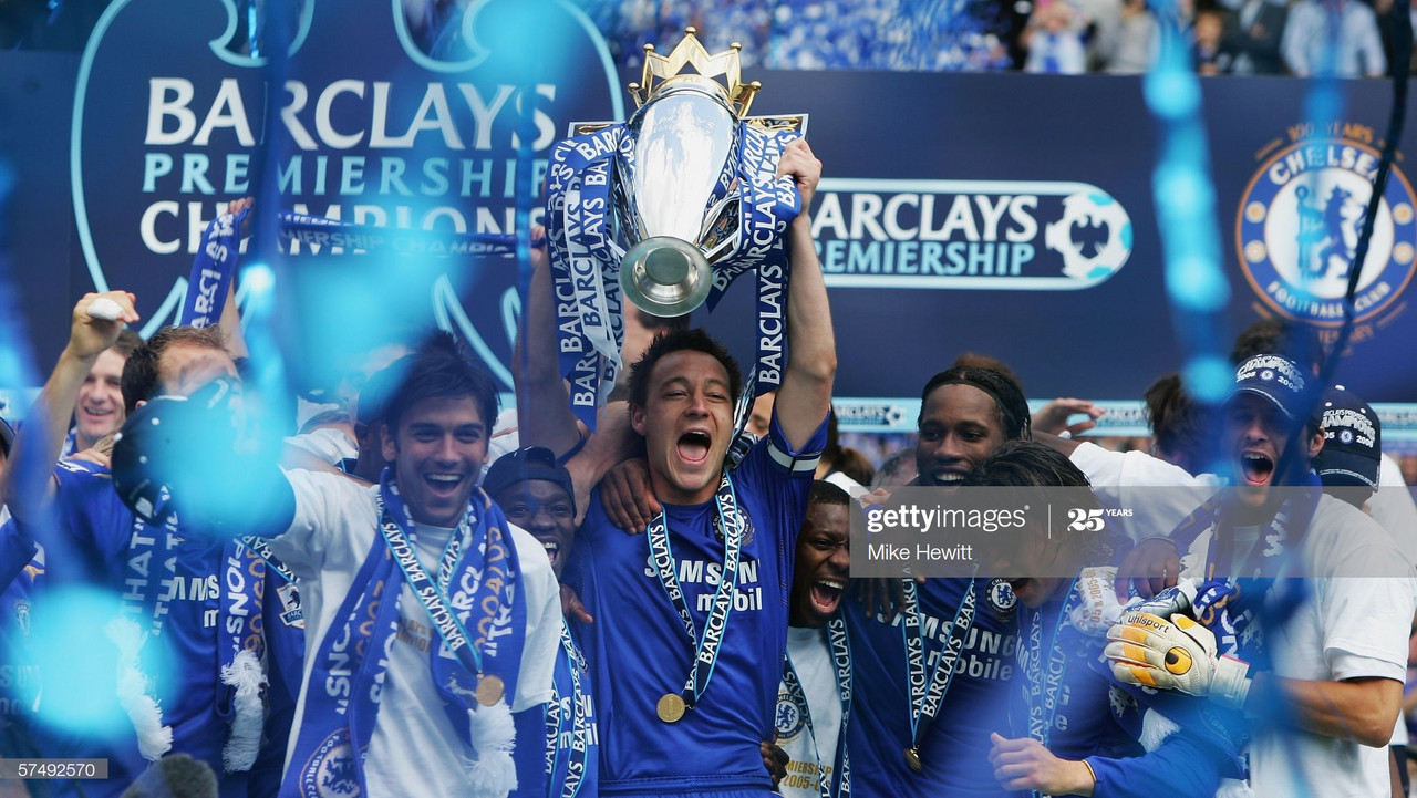 On this day: Chelsea thrash Manchester United to win second consecutive league title