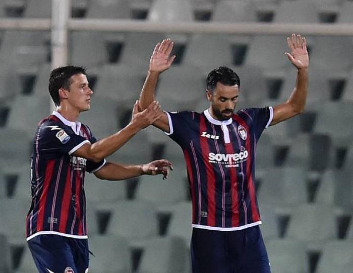 Il Crotone si prepara alla sua terza gara di Serie A