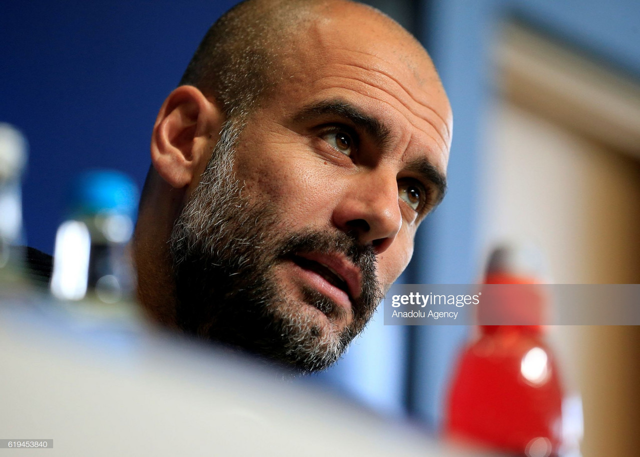 "Pep Guardiola: ""There are a lot of incredible teams in Europe"""