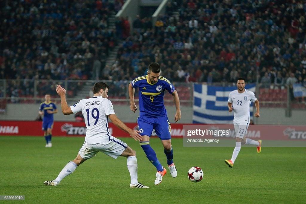 Bosnia-Herzegovina vs Greece Preview: familiar foes clash in bid for Euro 2020 qualification