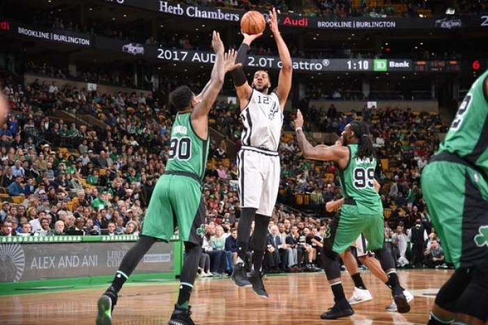 NBA, San Antonio sbanca il TD Garden di Boston (103-109)