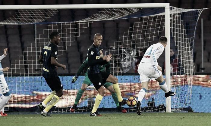 Il Napoli torna a splendere, l'Inter sprofonda