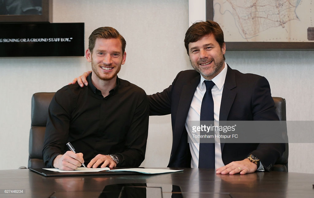 Jan Vertonghen: Tottenham extend Belgian defender's deal