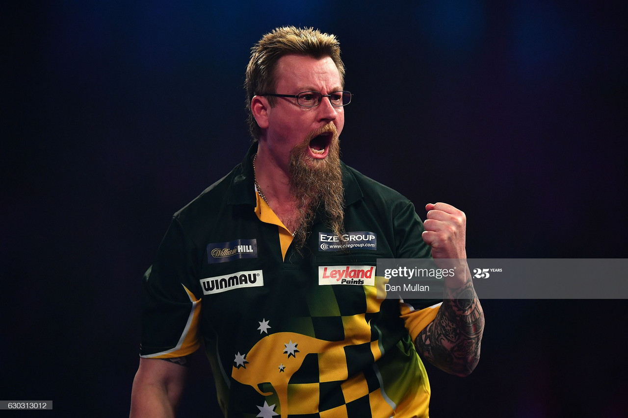 Betfred World Matchplay darts: More giants slain in second round