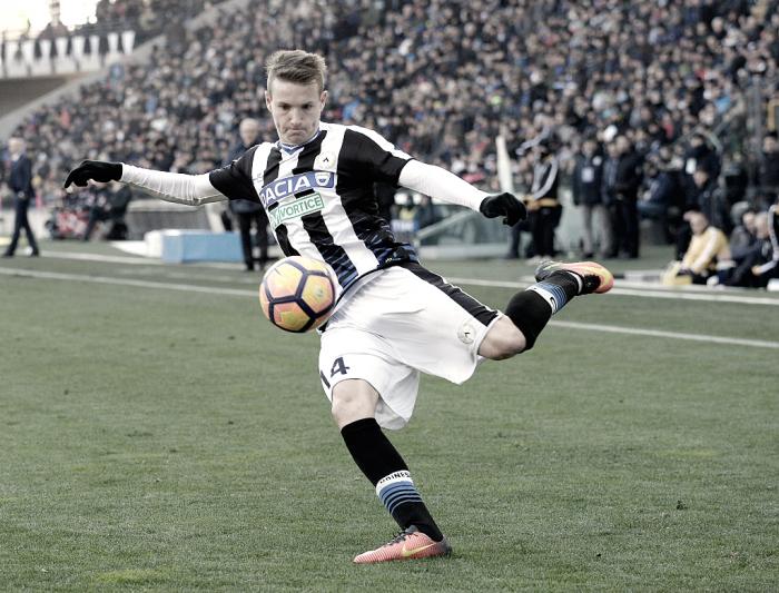 """Udinese, Jankto pensa alla sfida contro la Juventus: """"Vogliamo fare una grande gara"""""""