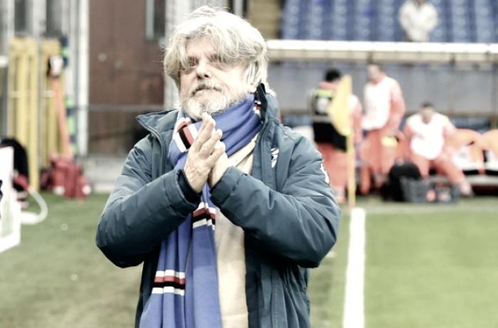 """Sampdoria, patron Ferrero sottolinea: """"Schick sta bene. Su Cassano vi dico che non smette"""""""