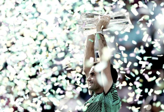 Histórico: Roger Federer conquista Indian Wells e chega aos 90 títulos