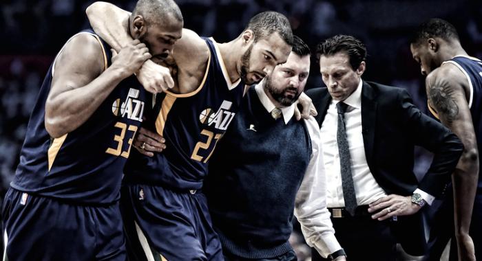 NBA - Utah in ansia per Rudy Gobert