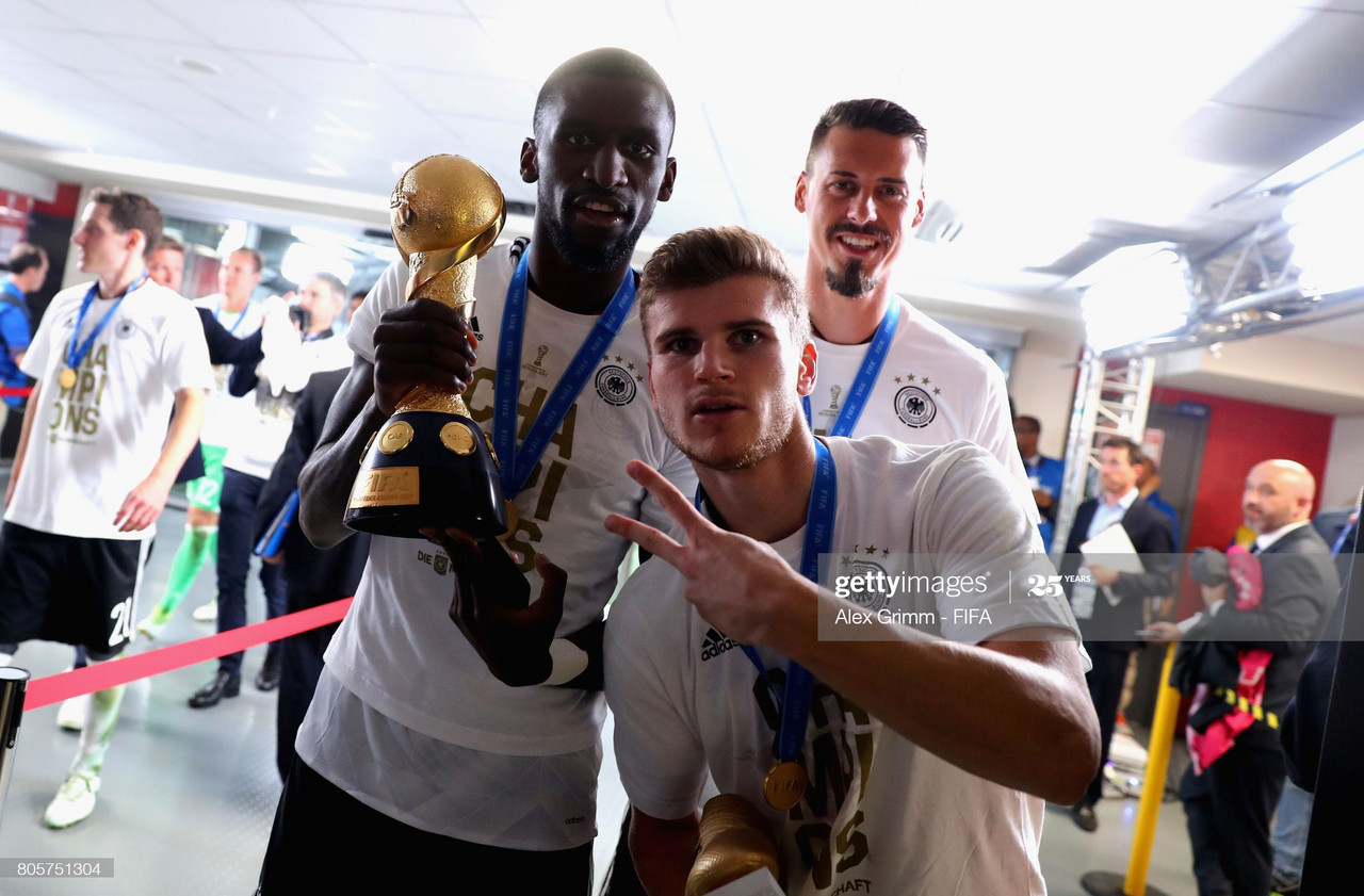'Agent' Rudiger talks German reunion at the Bridge