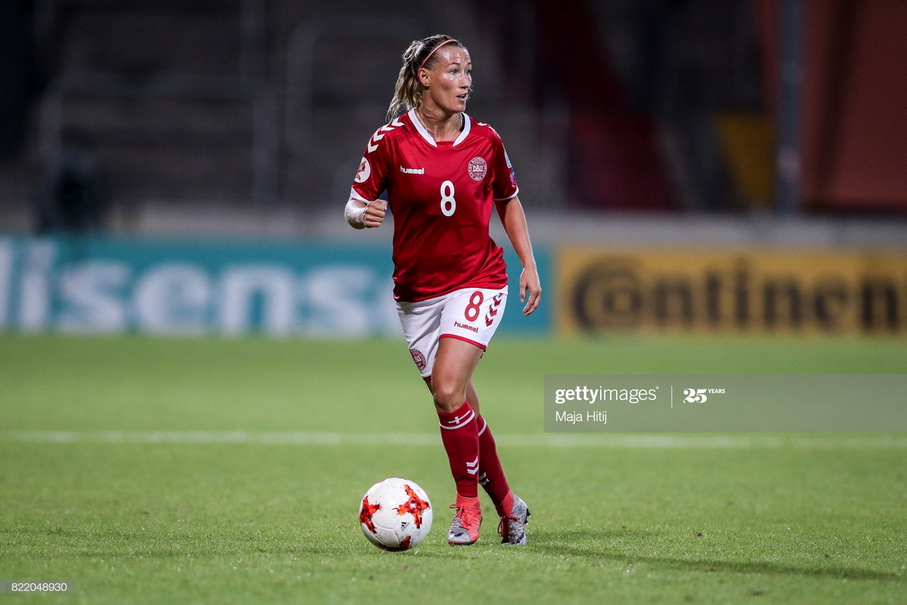 'It's been a strange season and not knowing has been the most difficult thing to handle mentally' - Danish defender Theresa Eslund on the Danish league's playoffs