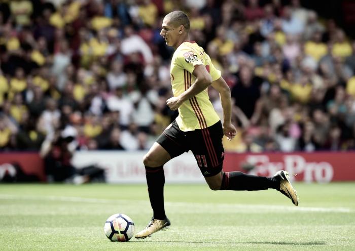 Após sair do Flu, Richarlison estreia no Watford sendo decisivo no empate contra Liverpool