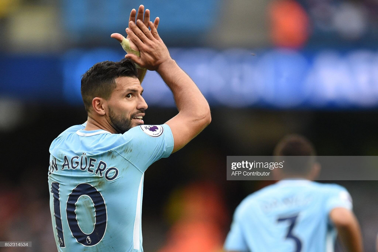 Prolific goalscorer Aguero bows out at Man City with greatness assured