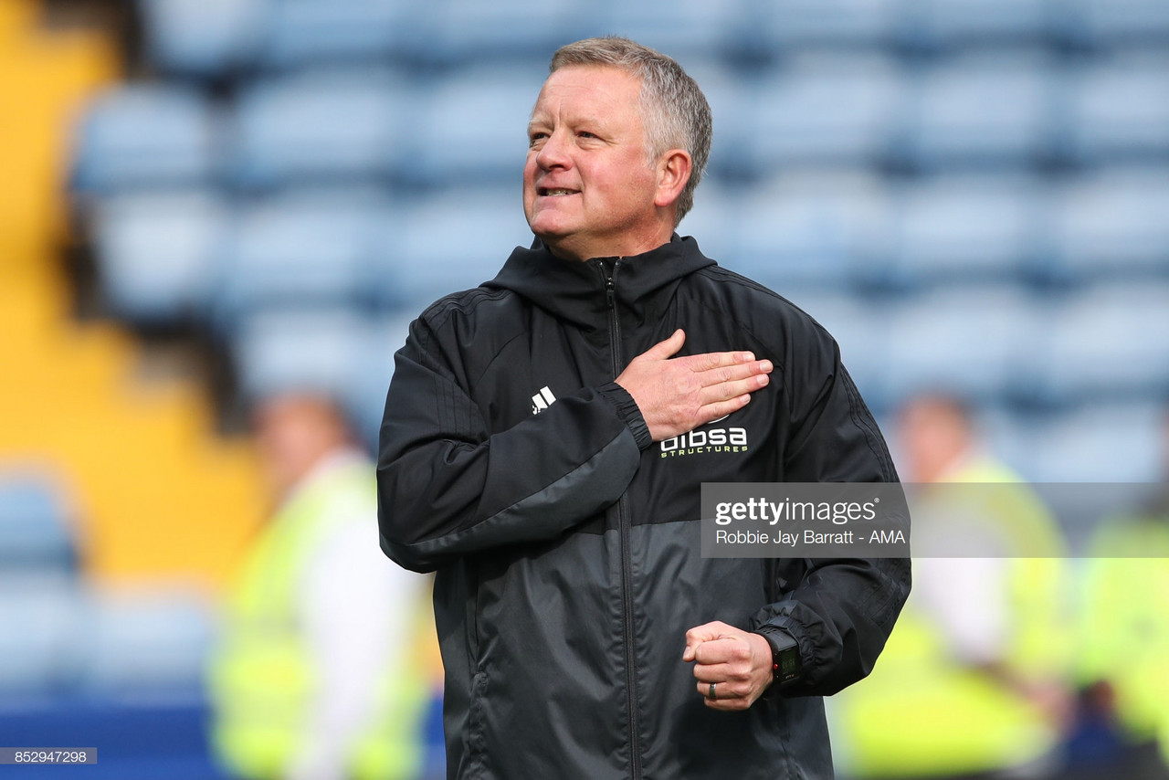 Chris Wilder: 'We won't get carried away'