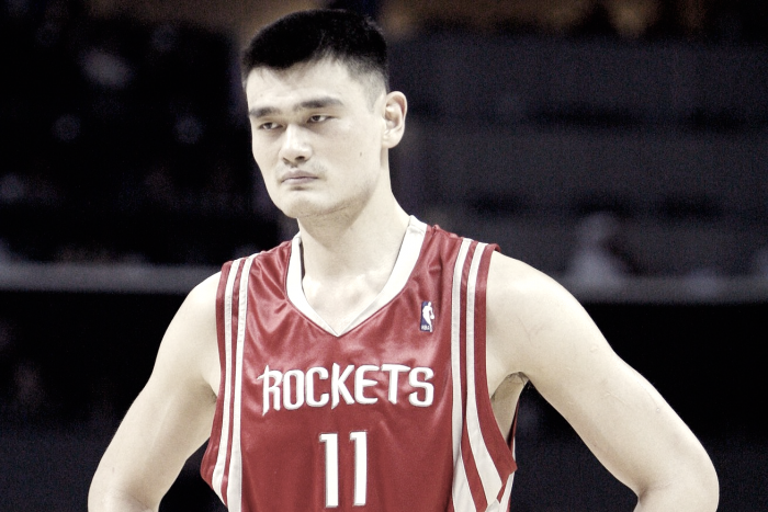 NBA - Houston Rockets, Yao Ming è nella storia della franchigia texana