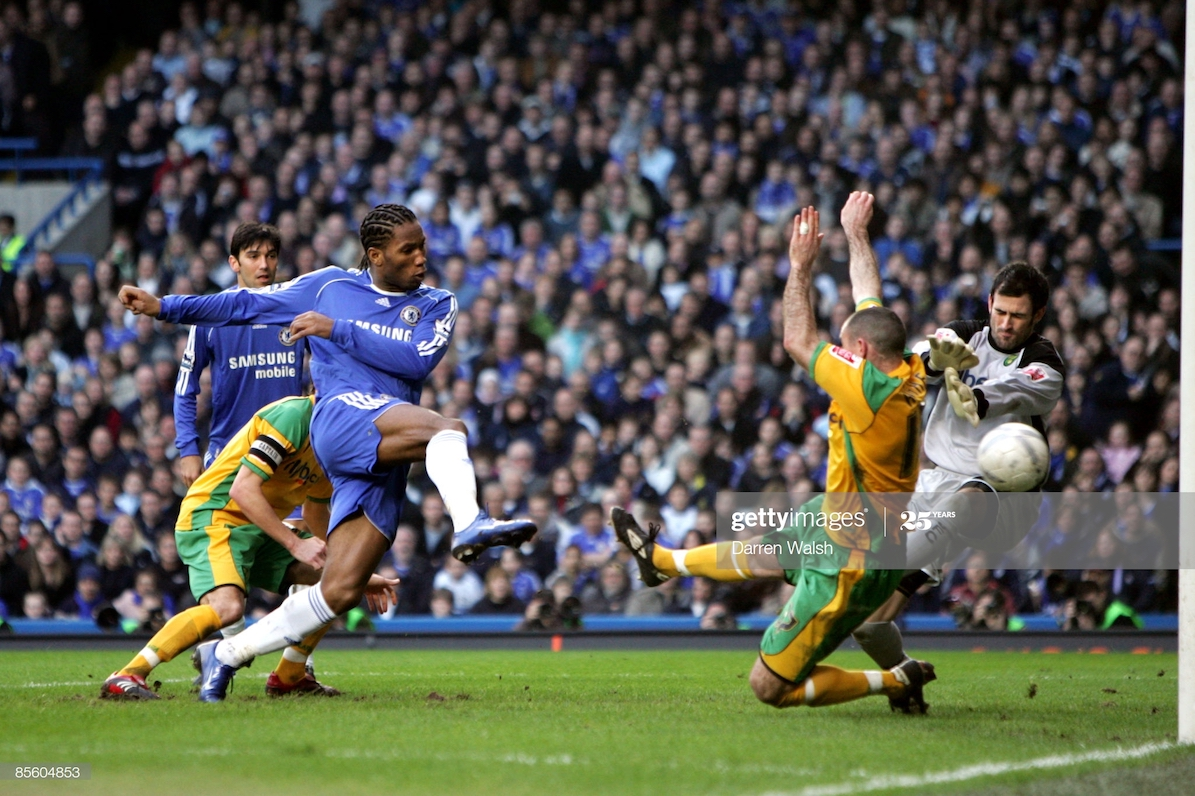 Chelsea are unbeaten against Norwich in 26 years, take a look at some of the results.