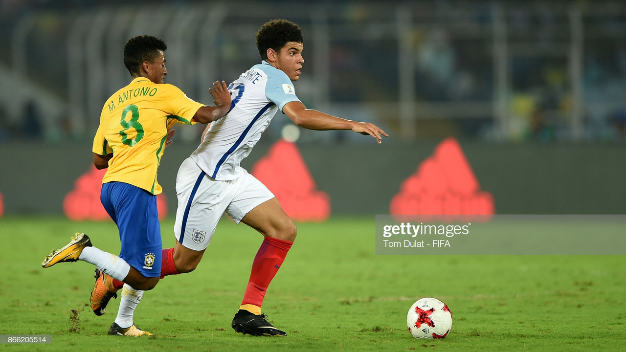 Morgan Gibbs-White withdraws from England Under-21 duty ahead of Euro qualifier.