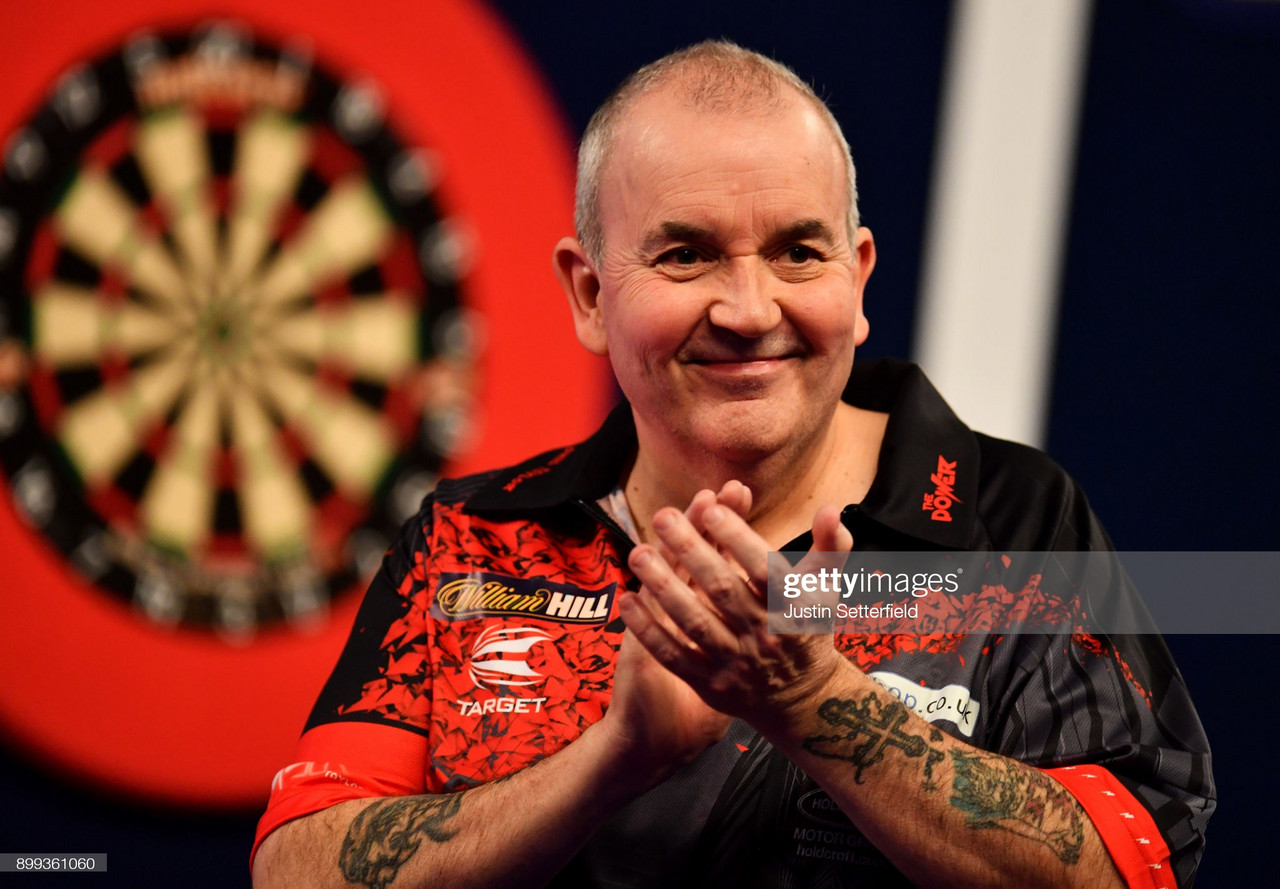 """Darts: Phil """"The Power"""" Taylor to make shock return to Darts four years after retirement"""