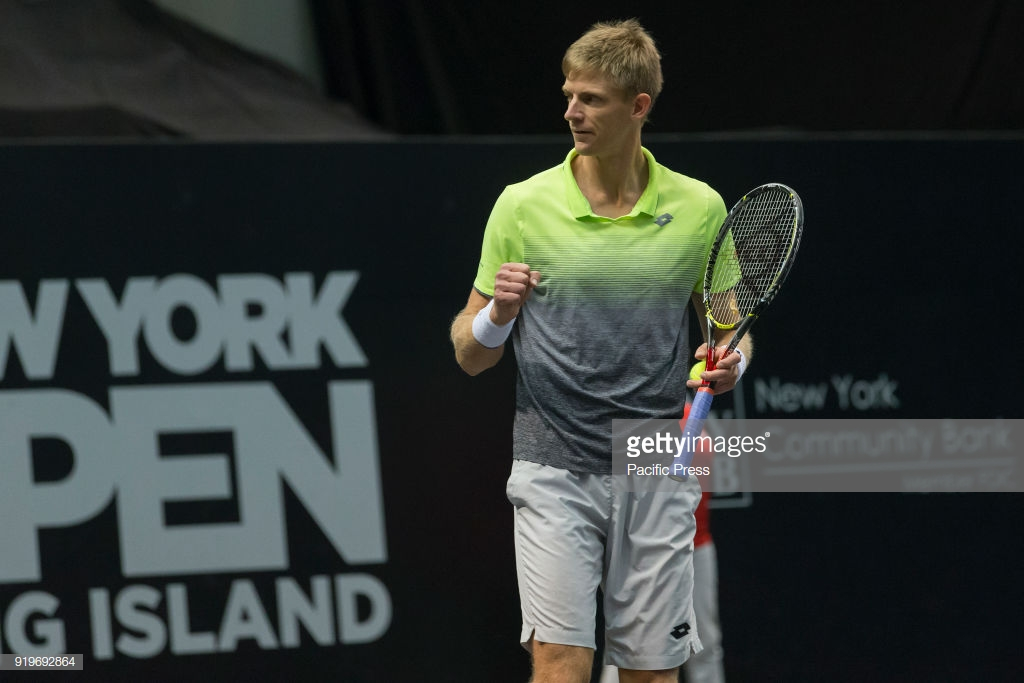 Kevin Anderson withdraws from New York Open citing elbow injury