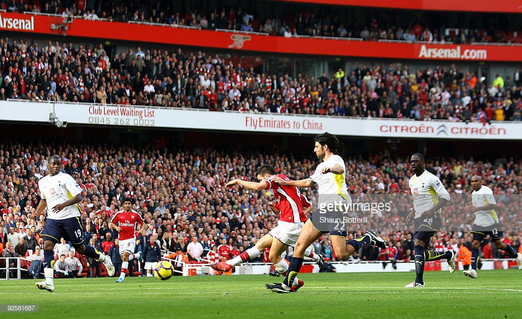 Top five: North London Derby's hosted at the Emirates