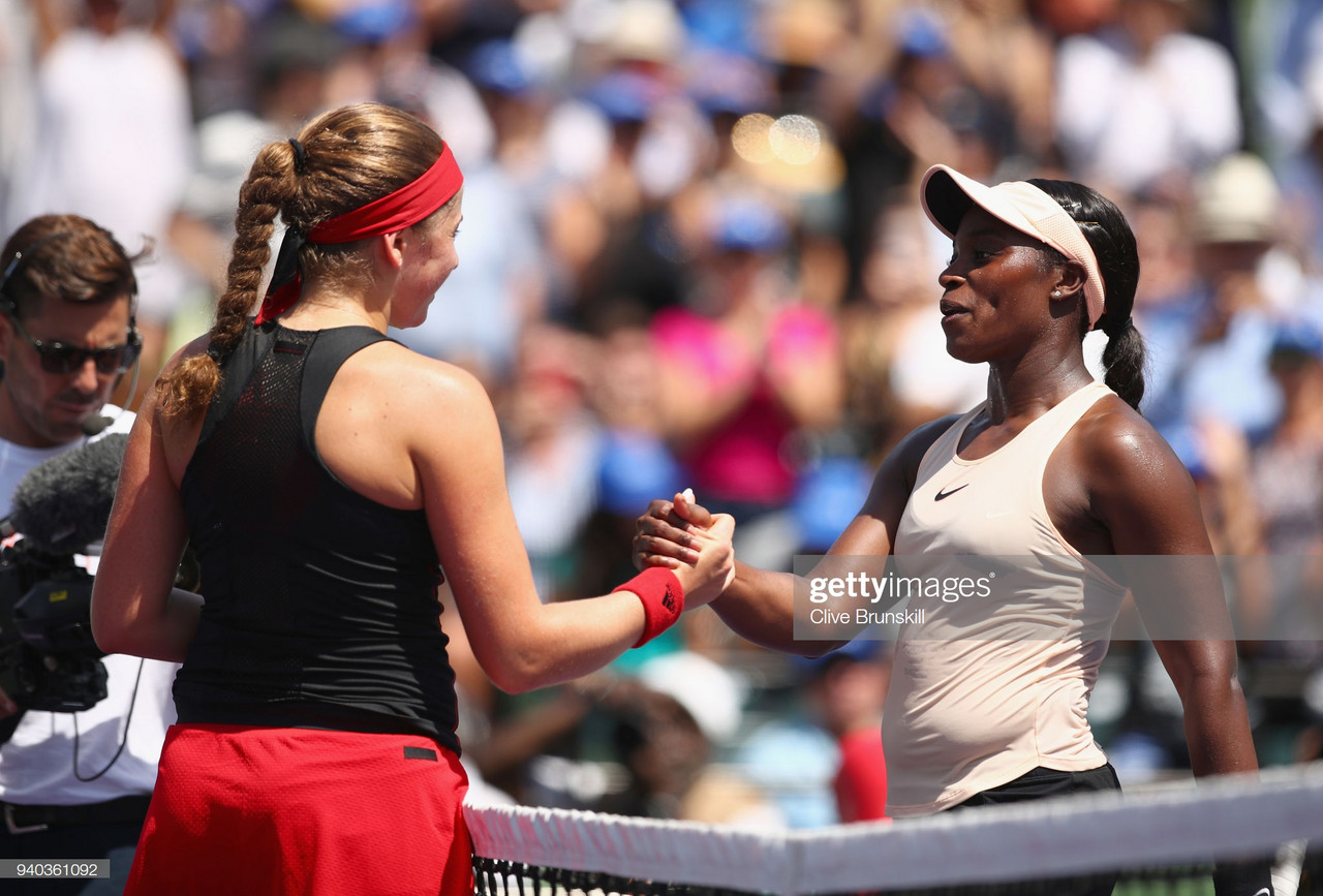 WTA Eastbourne second round preview: Sloane Stephens vs Jelena Ostapenko