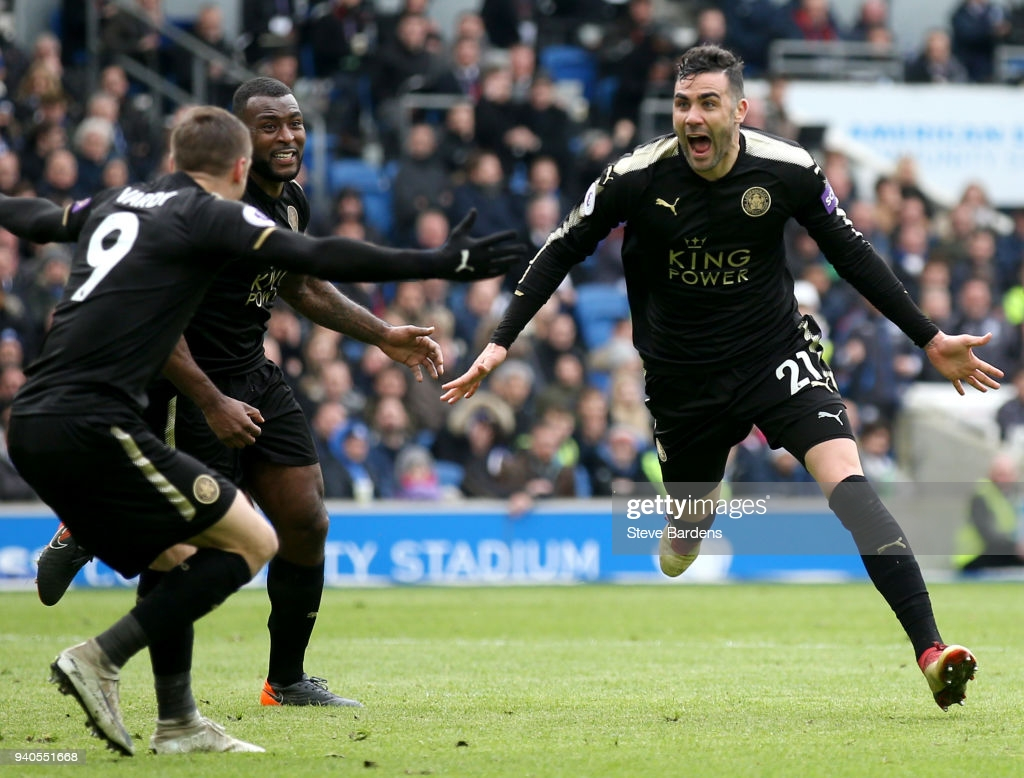 Memorable Match : Brighton 0-2 Leicester City: Rare Iborra goal helps Leicester to Amex victory