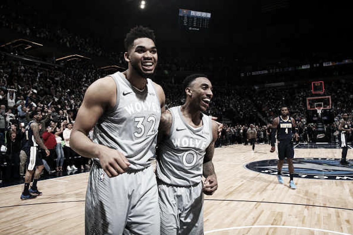 Momentazo NBA: Minnesota rompe la racha de 14 años sin play off y agranda a cinco la de Denver