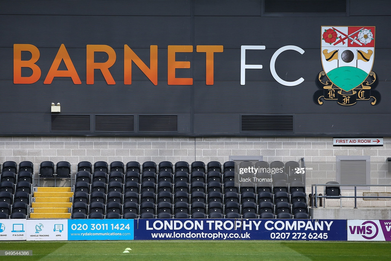 Barnet FC make non-playing staff redundant due to the impact of Covid19