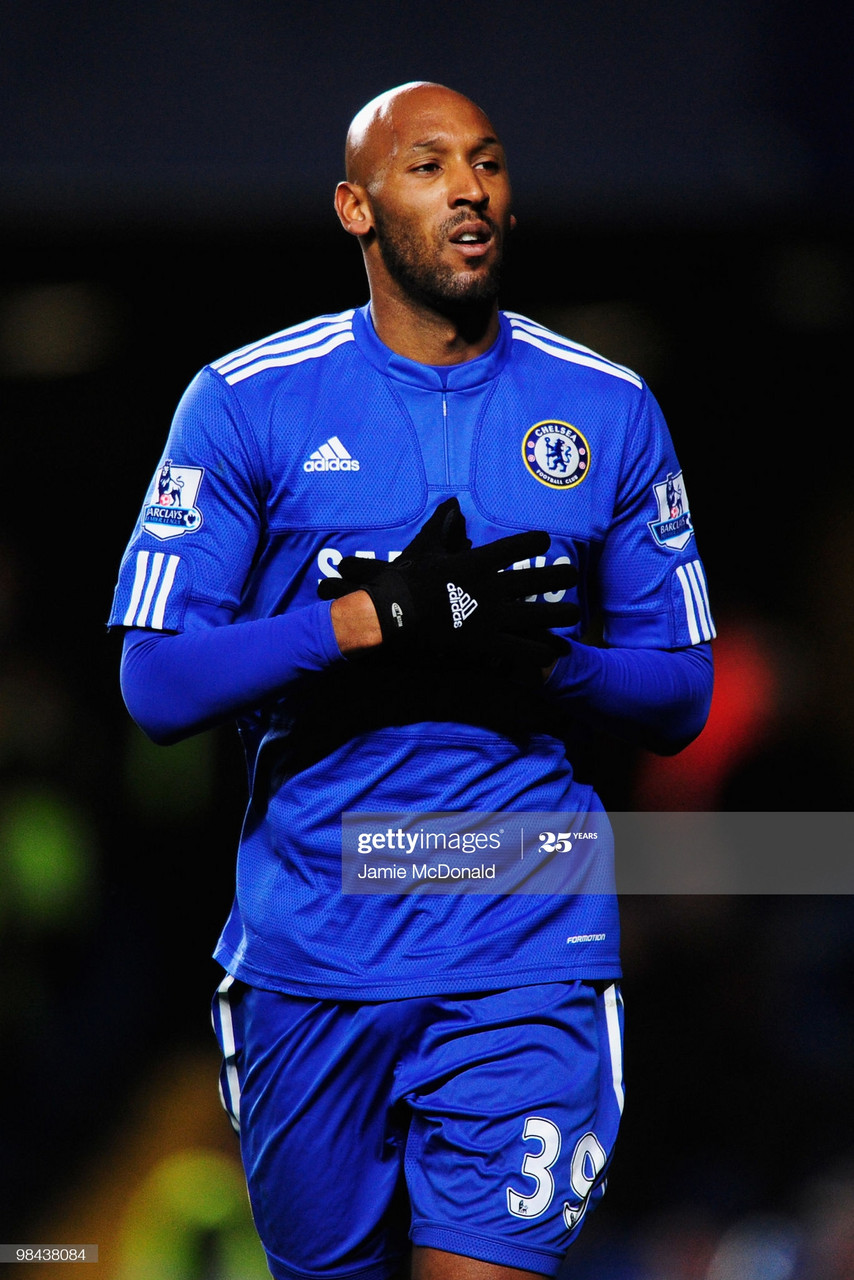 Nicolas Anelka: The Iconic number 39 at Stamford Bridge