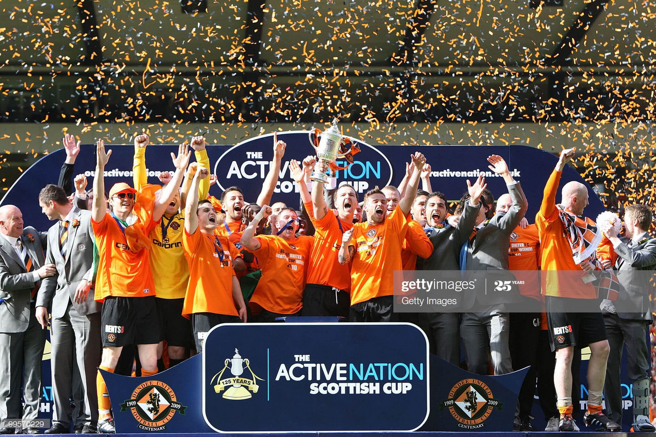 Dundee United's 2010 Scottish Cup winning side: Where are they now?