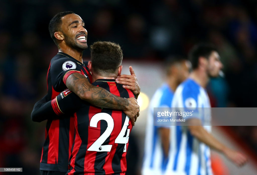 Bournemouth 2-1 Huddersfield Town: Cherries hold on to win against dominant Terriers