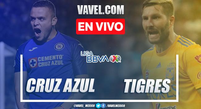 Resumen y goles del Cruz Azul 2-1 Tigres en Liga MX 2020