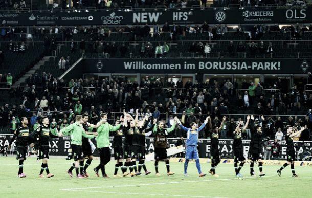 El Borussia Monchengladbach se luce ante su público