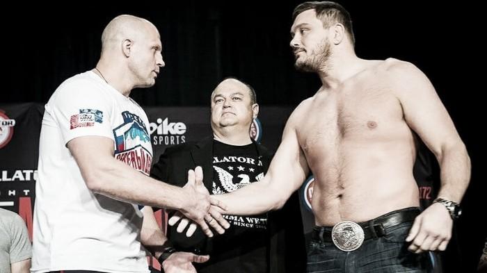 Luta entre Fedor e Mitrione é remarcada para card do Bellator 180