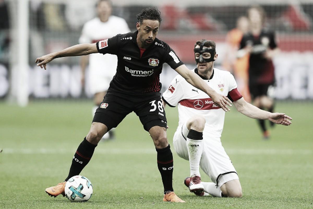 Leverkusen perde para Stuttgart em casa e sai da zona de Champions League