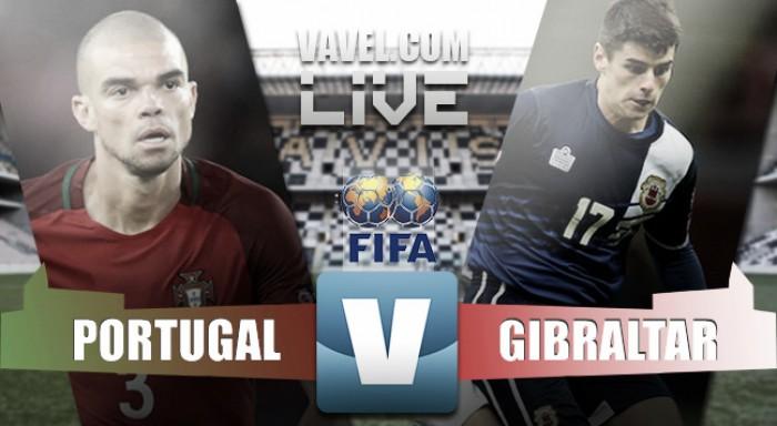 Risultato Partita Portogallo vs Gibilterra, amichevole internazionale 2016 (5-0)