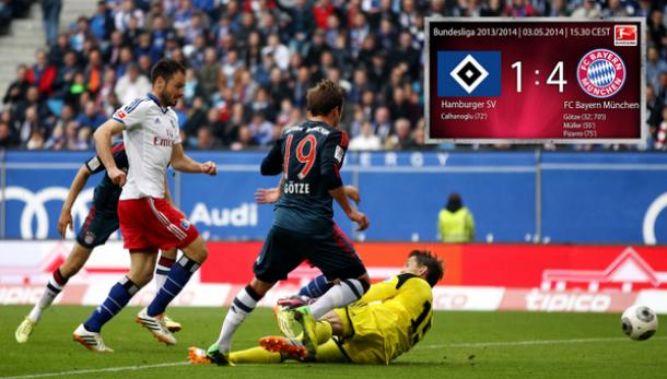 Götze porte le Bayern !