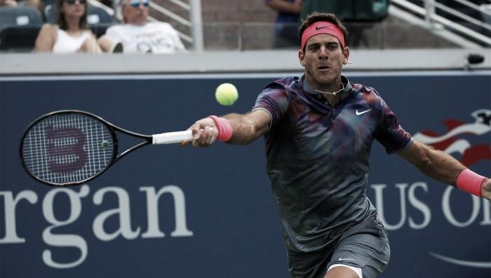 Del Potro 'despacha' Federer e marca encontro com Nadal — US Open