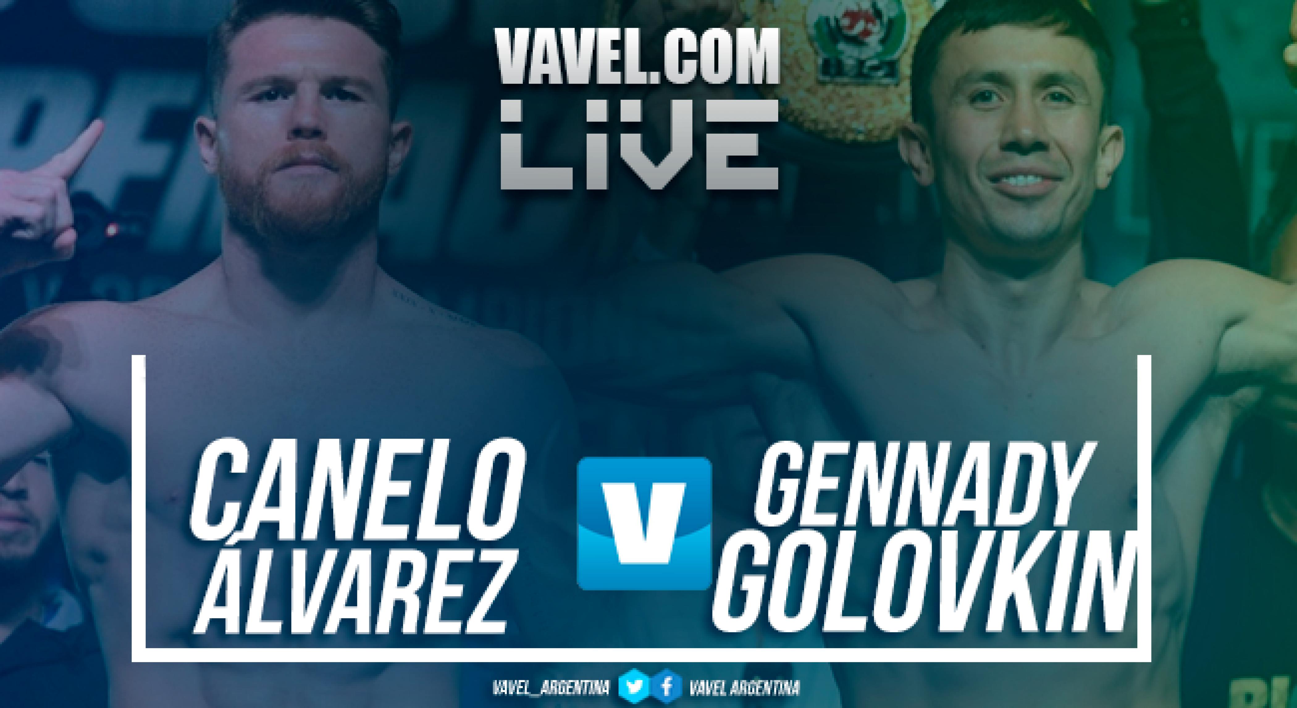 Canelo Álvarez vs Golovkin II en vivo online en pelea boxeo 2018