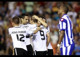 Puntuaciones: Valencia 3-3 Deportivo de la Coruña