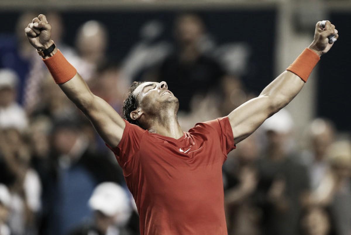 """Rafael Nadal: """"Nunca me tomo un partido como una revancha"""""""